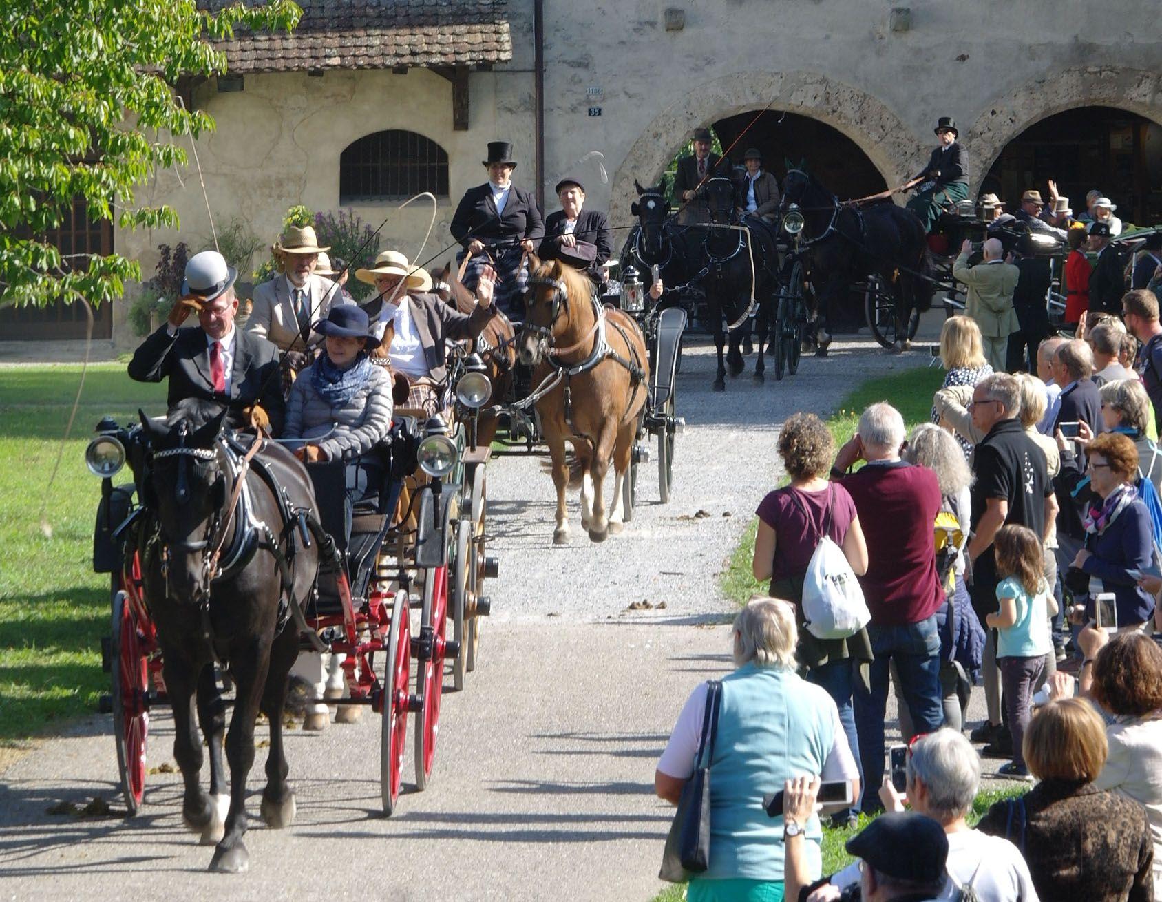Pferdewoche: Vorschau Nostalgie-Herbstfahrt