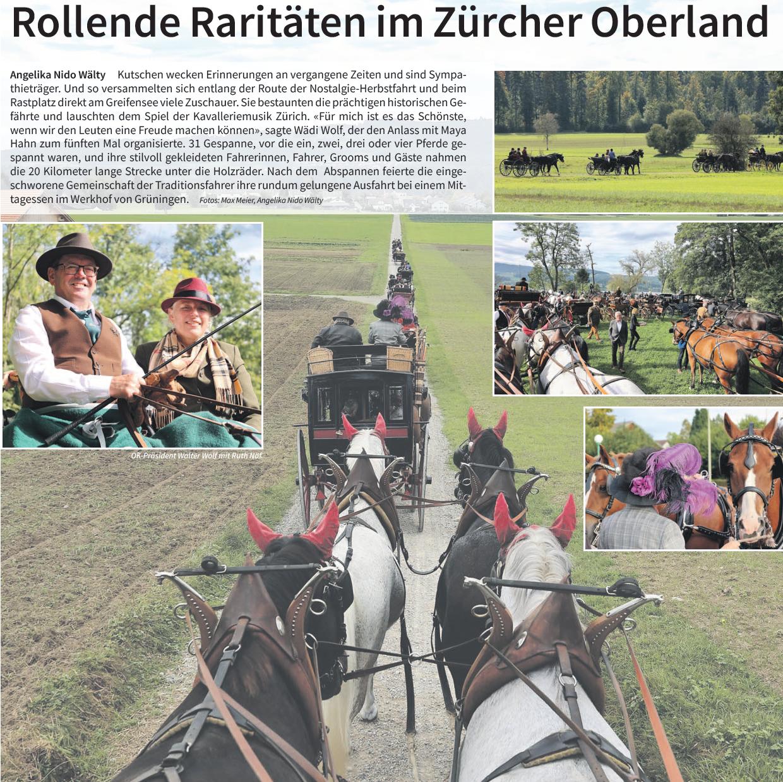"""Die """"Pferdewoche"""" zur Nostalgiefahrt 2021"""
